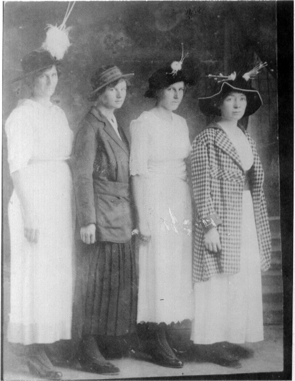 Grandma on the right